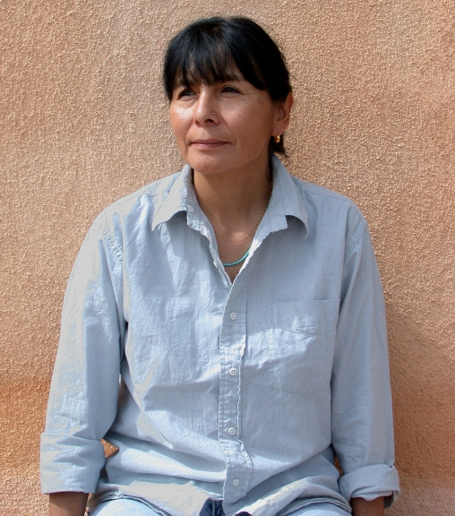 Filmmaker and Critic Beverly Singer, Santa Clara Pueblo, ca. 2001