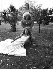 Fritz and Romona Scholder, Galisteo, NM, 1975